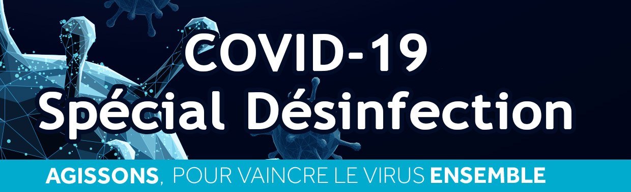Catalogue désinfectants virucides Coronavirus/COVID-19