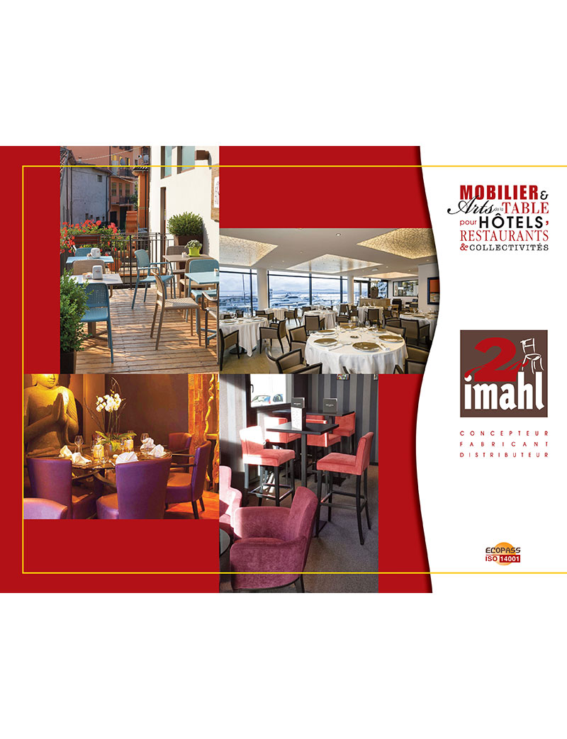 catalogue de mobilier pour restaurants